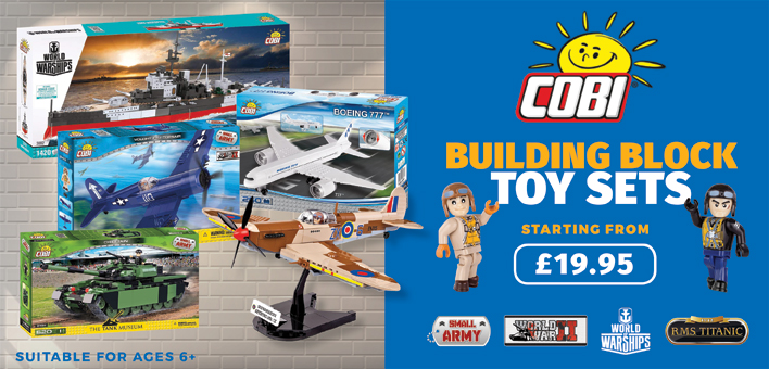 Cobi building blocks