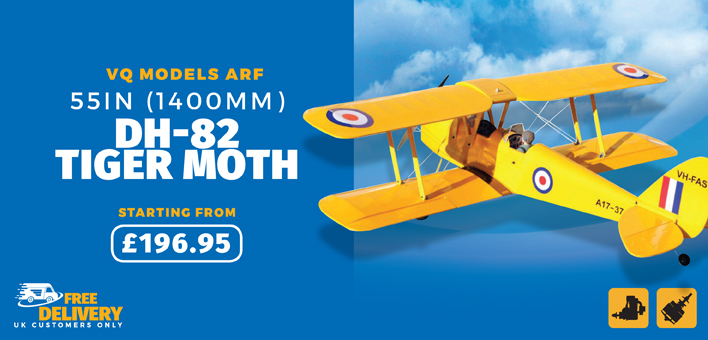 VQ Models Tiger Moth