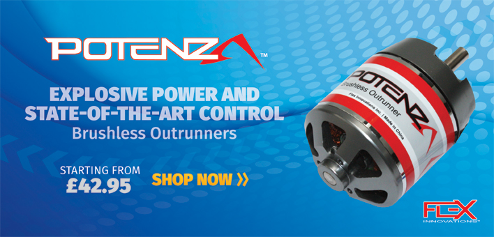 potenza brushless outrunners