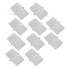 Nylon Pinned Hinges (White) L16 x W28mm