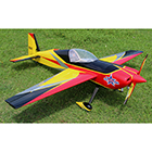 Pilot-RC Slick 67in Wingspan (Red/Yellow/Black 01)
