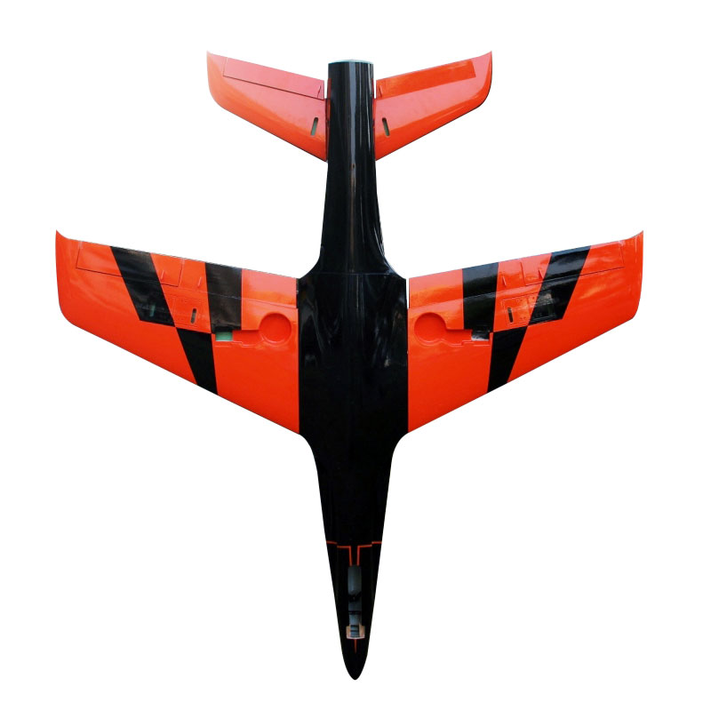 Pilot-RC Predator 2.2m Composite Jet - Orange/Black (Scheme 10)