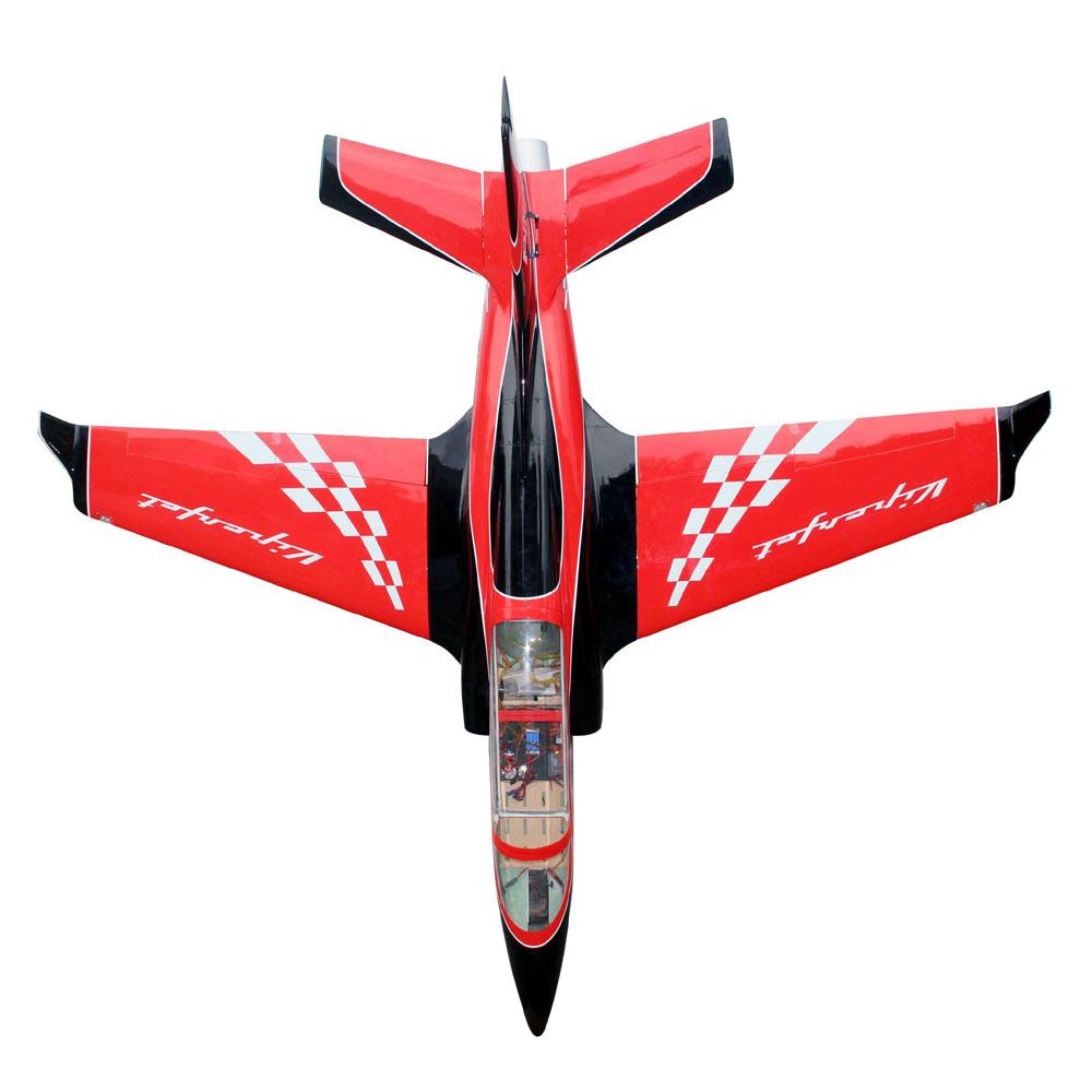 Pilot-RC Viperjet 2.2m Wingspan Composite Jet - Red/Black/White (Scheme 01)