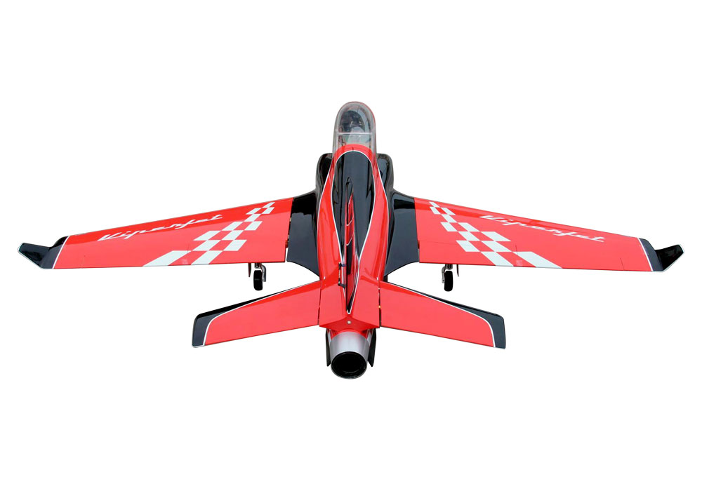 Pilot-RC Viperjet 2.2m Wingspan Composite Jet - Red/Black/White (Scheme 01)