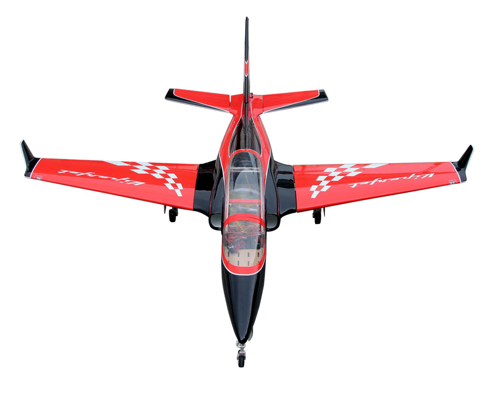 Pilot-RC Viperjet 3.26m Wingspan Composite Jet - Red/Black/White (Scheme 01)