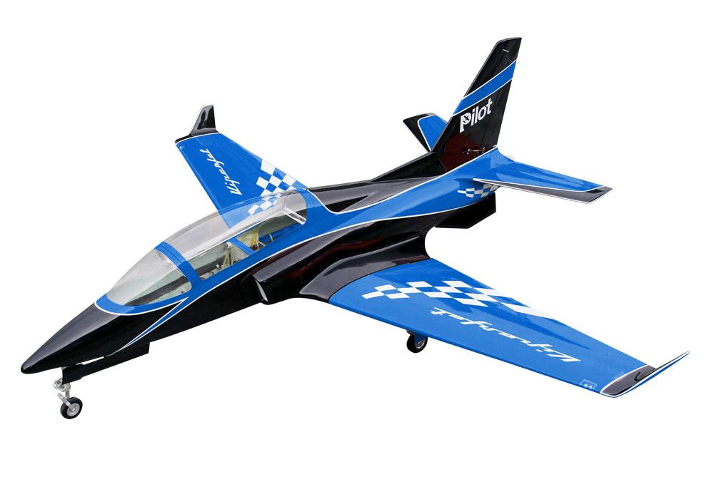Pilot-RC Viperjet 3.26m Wingspan Composite Jet - Blue/Black/White (Scheme 02)