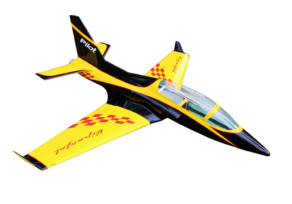 Pilot-RC Viperjet 3.26m Wingspan Composite Jet - Yellow/Black/White (Scheme 03)