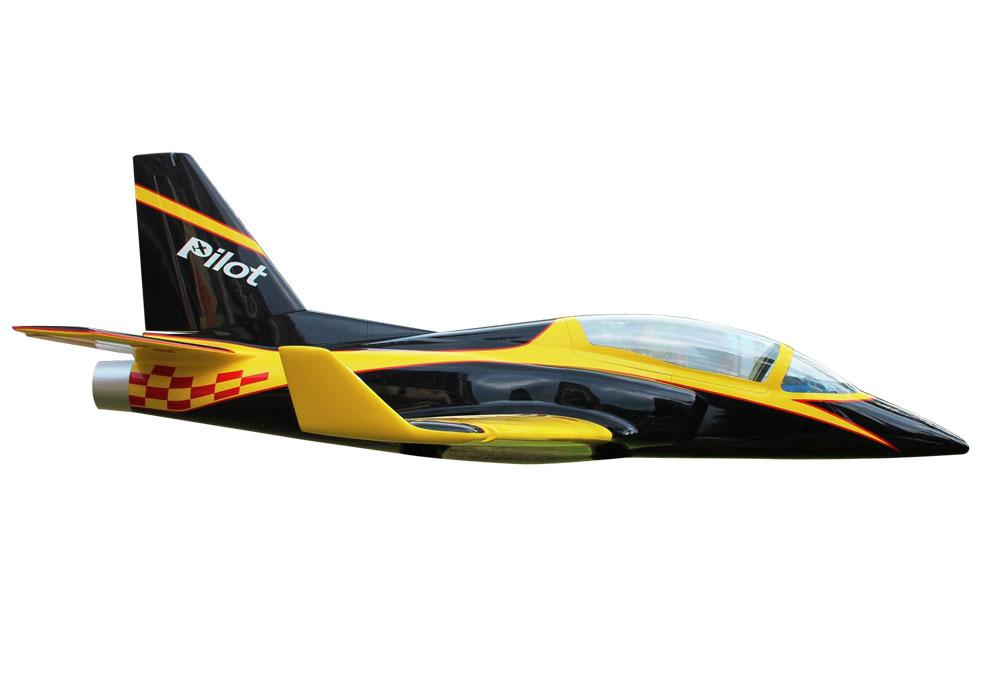 Pilot-RC Viperjet 3.26m Wingspan Composite Jet - Yellow/Black/Red (Scheme 03)
