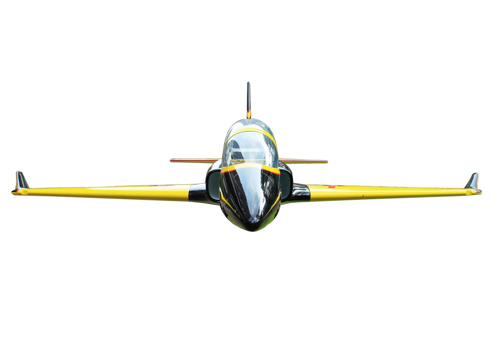 Pilot-RC Viperjet 2.2m Wingspan Composite Jet - Yellow/Black/White (Scheme 02)