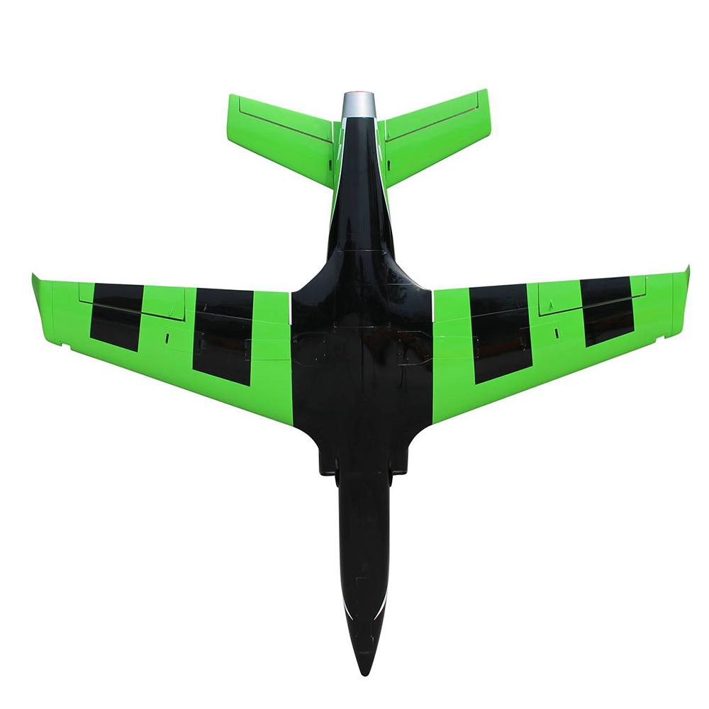 Pilot-RC Viperjet 3.26m Wingspan Composite Jet - Green/Black/White (Scheme 04)