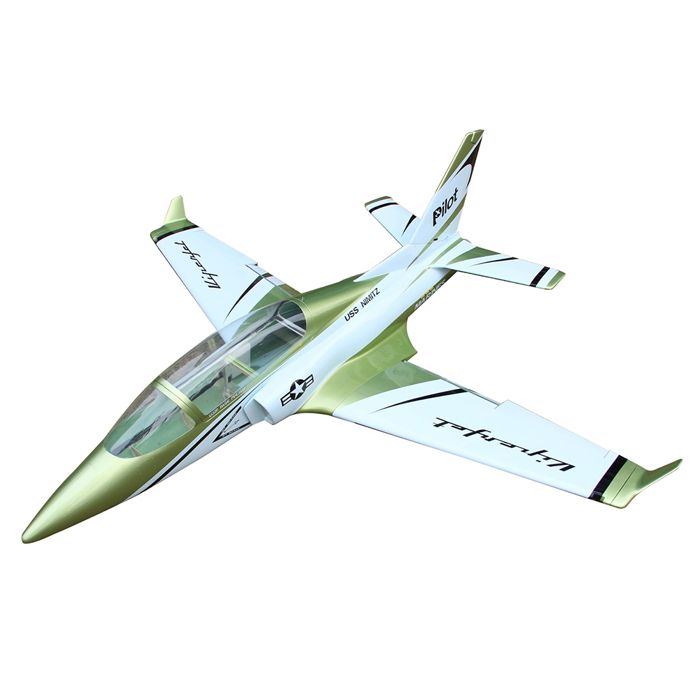 Pilot-RC Viperjet 3.26m Wingspan Composite Jet - Metallic Green/White/Black (Scheme 05)