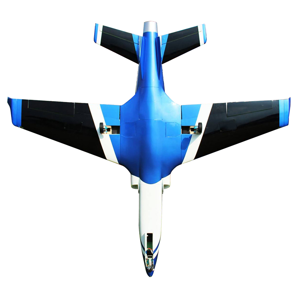 Pilot-RC Viperjet 3.26m Wingspan Composite Jet - Metallic Blue/White/Black (Scheme 06)