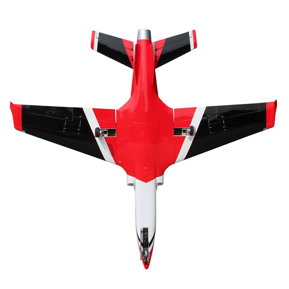 Pilot-RC Viperjet 3.26m Wingspan Composite Jet - Red/Black/White (Scheme 09)