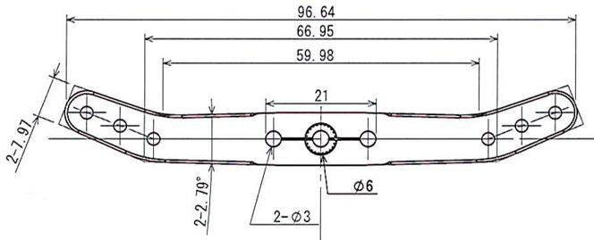 Heavy Duty Servo Horn WLO (3.5in)