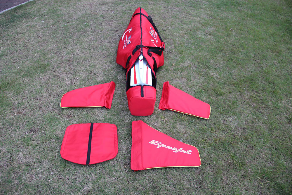 Pilot-RC Fuselage Bag for Viperjet 2.0m (Red/Black)
