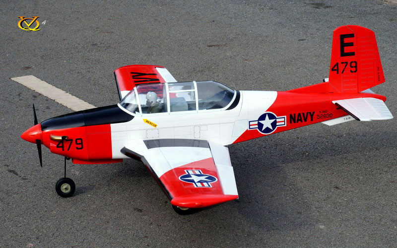 VQ Models T-34C Turbo Mentor 61 4in Wingspan (EP/GP) ARF
