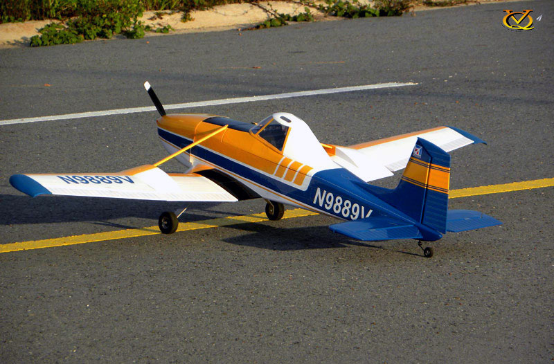 VQ Models Cessna 188 AGwagon 75 6in Wingspan (EP/GP) ARF
