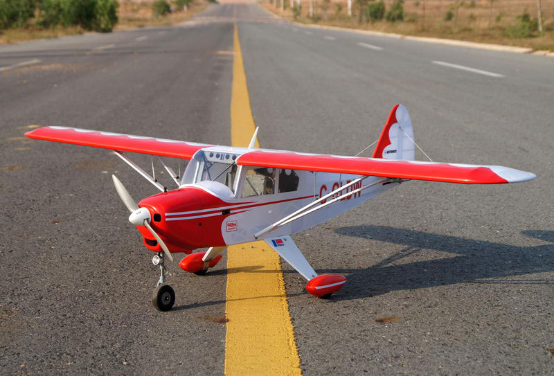 VQ Models Piper PA-22 Tri-Pacer 63in Wingspan (EP/GP)