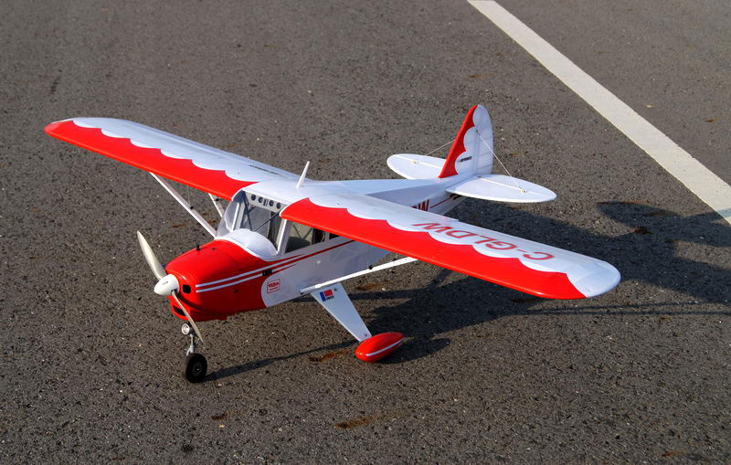 Vq Models Piper Pa 22 Tri Pacer 63in Wingspan Ep Gp