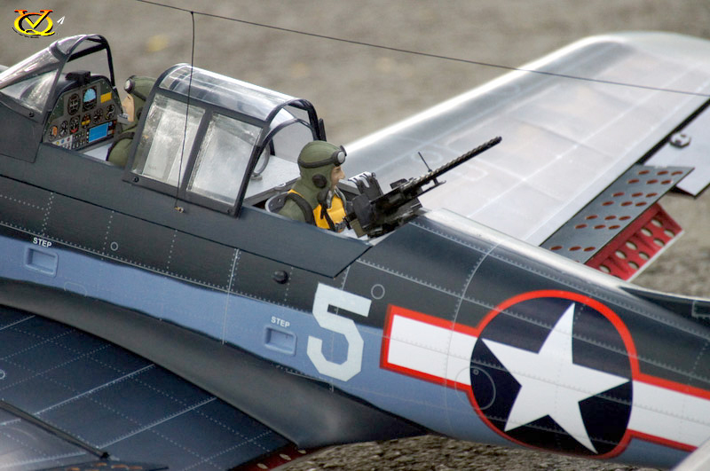 Vq Models Sbd 5 Dauntless 60 6 Quot Wingspan