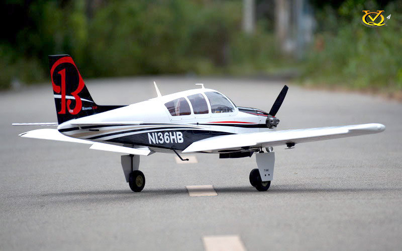 VQ Models Beechcraft Bonanza 62 2in Wingspan (EP/GP) ARF