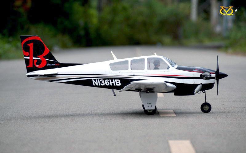 Vq Models Beechcraft Bonanza 62 2in Wingspan Ep Gp Arf