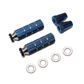 Transmitter Long Stick Ends Set M3 (For Futaba) (Blue)