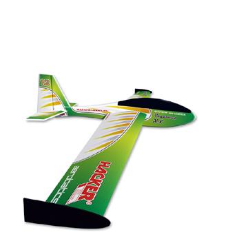 Hacker Model Vagabond XL Foil Covered Glider