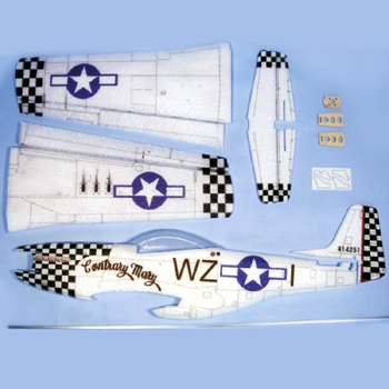 Hacker Model P-51D Mustang 'Contrary Mary' ARF