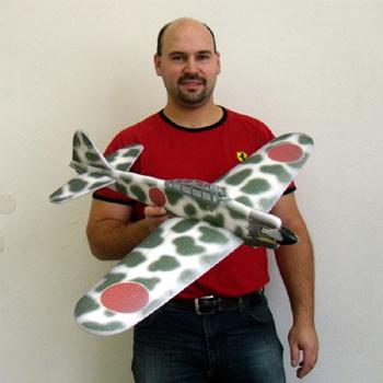 Hacker Model Mitsubishi A6M2 Zero ARTF