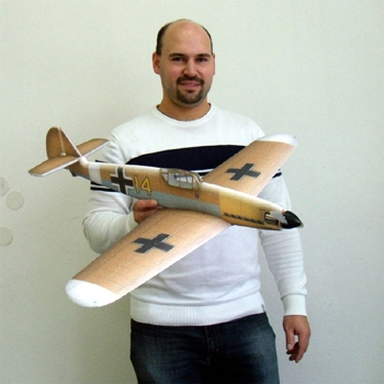 Hacker Model Messerschmitt BF109F ARTF