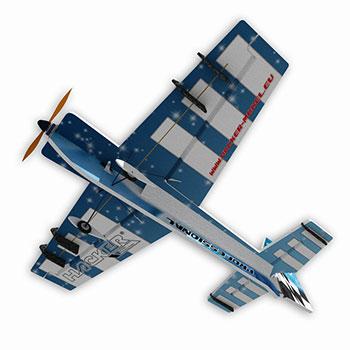 Hacker Model Xtra Vector Wolf (Blue)
