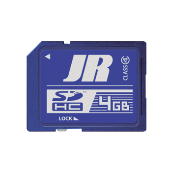 JR Propo 4GB Class 4 SD Memory Card (JR-SDM4G)