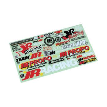 JR Propo Racing Team Decal Sheet A