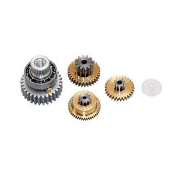 Replacement servo gearset for DS3401, DS3421HV & MP30T (Metal gear set with ball bearing).
