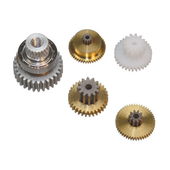 Metal Gearset for the JR Propo DS3421 servo.