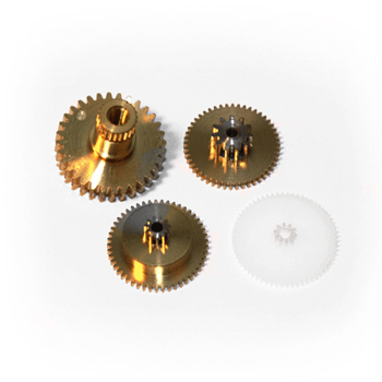 Replacement servo gearset for ES579 (Metal gear set with ball bearing).