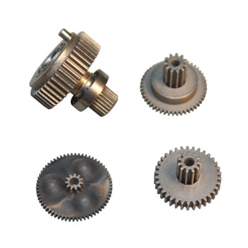 Replacement servo gearset for DS6301, DS6311HV, DS6321HV and DS8921HV (Metal gear set with ball bearing).