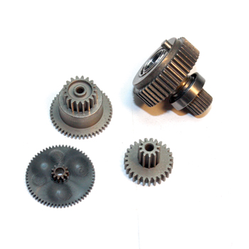 Replacement servo gearset for DS6305, DS6315HV, DS6325HV and DS8925HV (Metal gear set with ball bearing).