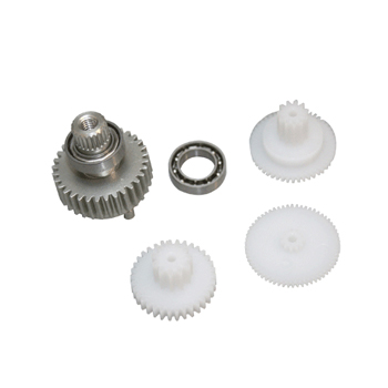 Replacement servo gearset for DS8321, DS8325, DS8421 & MP70A (Metal gear set with ball bearing)