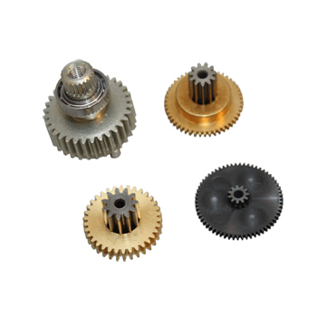 Replacement servo gearset for DS8411 and DS8425 (Metal gear set with ball bearing).