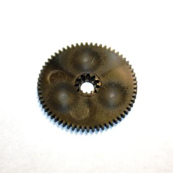 Sacrificial plastic B gear for JR Propo 8425, 8455, 8411, 8417, 8700, 8000 servos.