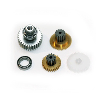 Replacement servo gearset for DS8455 (Metal gear set with ball bearing).