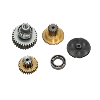 Replacement servo gearset for DS8715, DS8915 & MP80S (Metal gear set with ball bearing).