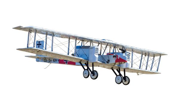 1/15 Gotha G.IV Heavy Bomber Twin Pusher EP ARF