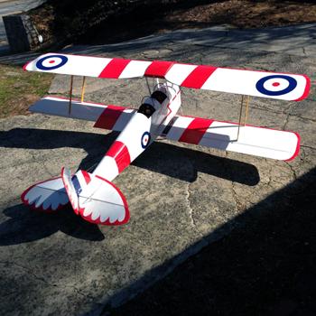 Tiger Moth 105in Wingspan ARF