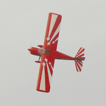 Pilot-RC 150in (40%) Decathlon - Red/White Colour Scheme