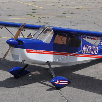 Pilot-RC 107in (28%) Decathlon - Blue/Red Colour Scheme