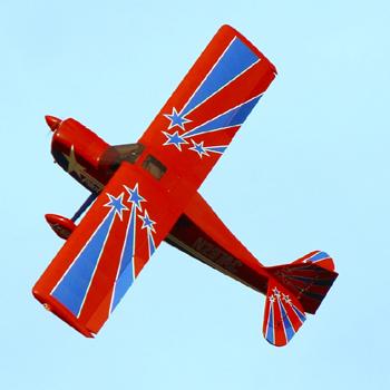Pilot-RC 107in (28%) Decathlon - Red/White Star Colour Scheme