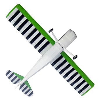 Pilot-RC 73in (24%) Edge 540 - Red/White Colour Scheme